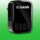 Equinux tizi Tankstelle Eco USB Netzteil, USB Ladegerät, 4 USB Anschlüsse für die Schuko Steckdose, schwarz