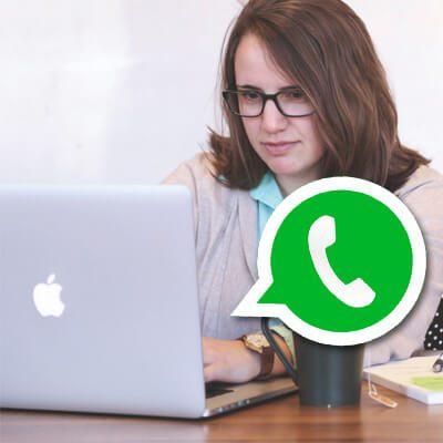 WhatsApp Web auf Mac, MacBook, PC, Laptop, iPad nutzen. WhatsApp Messenger Nachrichten unter OS X, macOS oder Windows empfangen und schreiben.