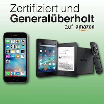 Zertifiziert und generalüberholt auf Amazon, Apple iPhone iPad Apple Watch gebraucht kaufen mit Garantie Rückgaberecht Gewährleistung repariert, überholt, refurbished