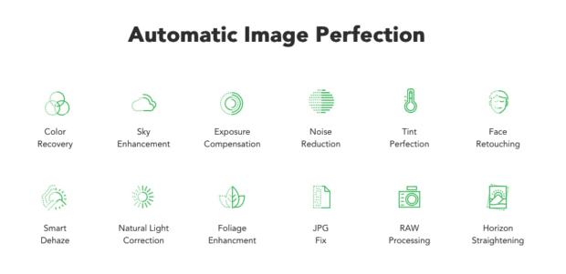 Diese Punkte analysiert und verbessert Photolemur in einem Foto.