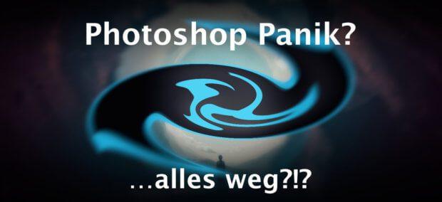 Photoshop Panik: Das ist die Lösung, wenn bei Photoshop alle Fenster wie Werkzeuge und Ebenen verschwunden sind!