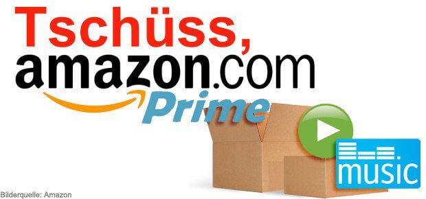 Amazon Prime kündigen - Anleitung zum Kündigen von Amazon Prime, Prime Video, Prime Music, Amazon Expressversand und weitere Amazon Prime Dienste
