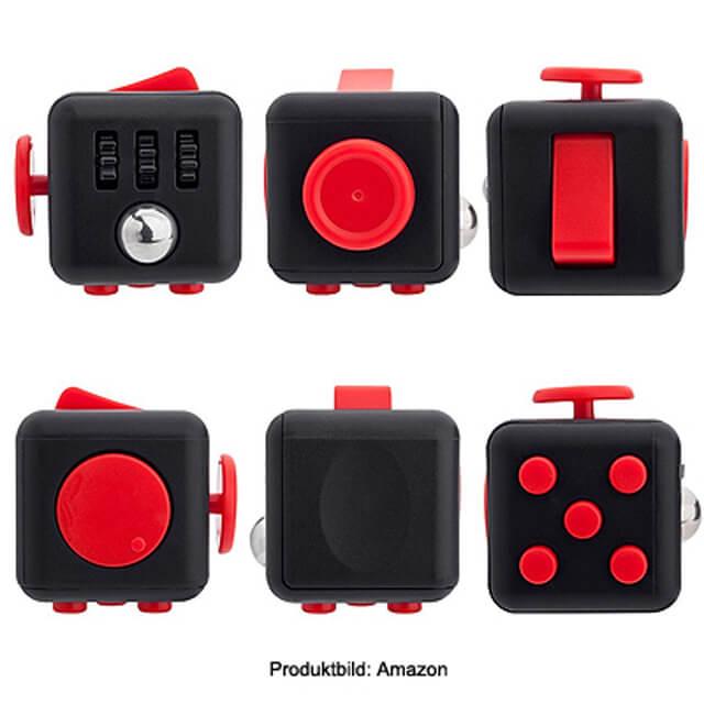 Fidget Toy Cube Anti Stress Würfel Spielzeug gegen Nervosität