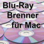 Blu-Ray Brenner für Mac, iMac, MacBook mit USB 3.0 oder USB-C