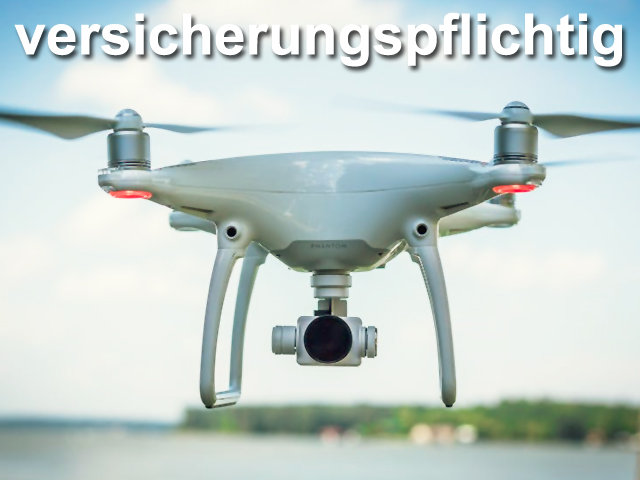 Beitragsfoto Drohnen Versicherung