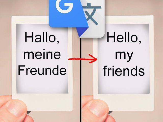 Haken google übersetzen