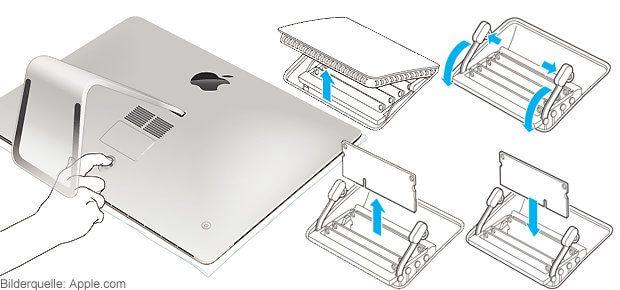Apple iMac RAM Arbeitsspeicher aufrüsten 32GB 64GB
