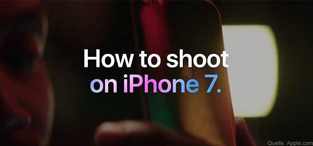 Fotografieren mit dem iPhone 7: Anleitungen von Apple bieten Hilfestellung für gute Aufnahmen.