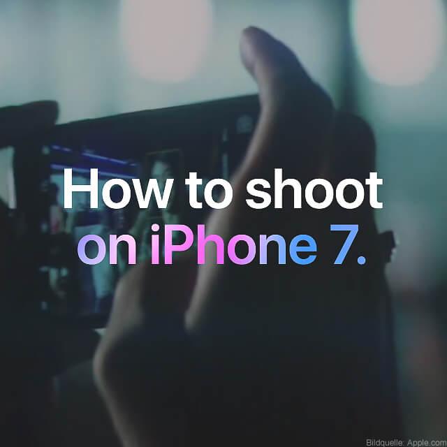 fotografieren mit dem iphone xs