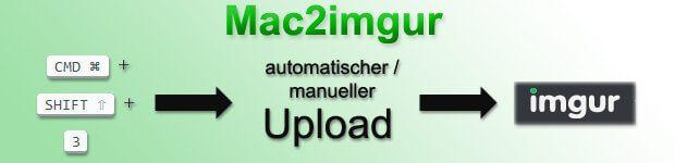 Mit Mac2imgur könnt ihr Mac Screenshots und andere Bilder kinderleicht online teilen. GitHub Download
