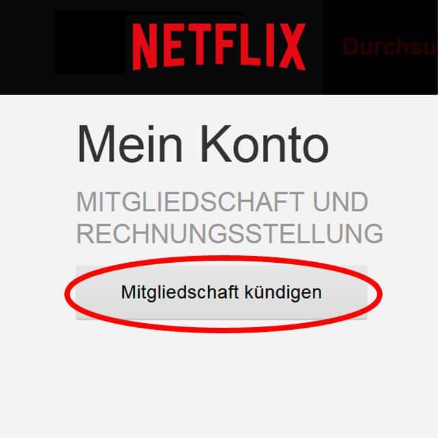 Netflix Kündigen Probemonat