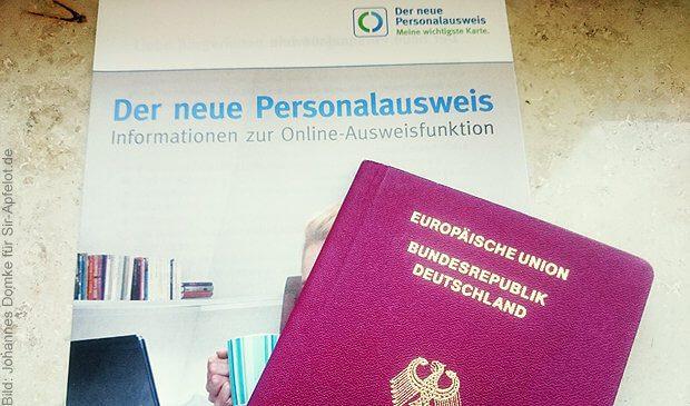 Reisepass, Ausweis, RFID Chip, zappen, zerstören