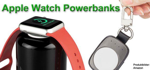 Auf der Suche nach einer Apple Watch Powerbank findet ihr verschiedene Modelle. Hier eine Auswahl, damit ihr den richtigen externen Akku für die Smartwatch findet.