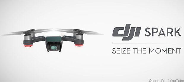 DJI Spark – die Selfie-Drohne für Einsteiger und Youtuber
