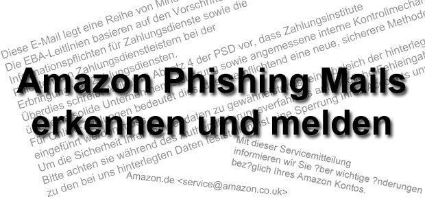 Gefälschte Amazon E-Mail erkennen und melden: so geht ihr gegen Phishing und Datenklau vor!