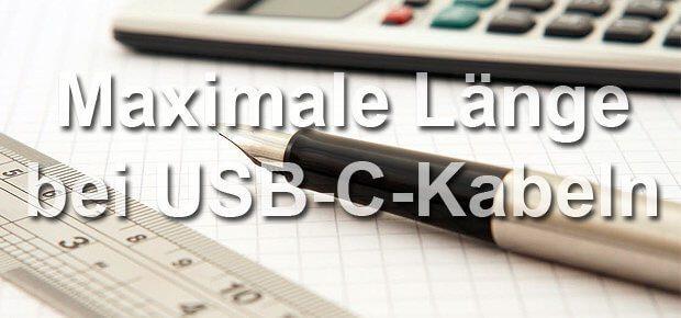 USB-C Verlängerung: Maximale Länge und geeignete Kabel