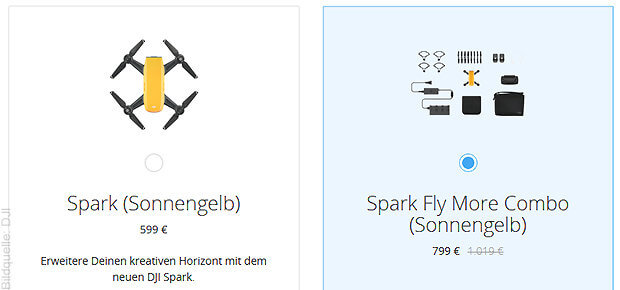 Spark Fly More Combo von DJI