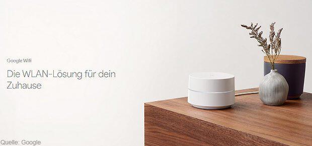 Google Wifi ist seit 2017 auch in Deutschland verfügbar