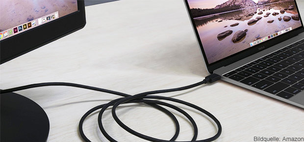 USB-C Displayport Adapter mit 4K und 60 Hz