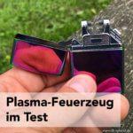 VOSO Plasma Feuerzeug mit Double Arc Lichtbogen im Test