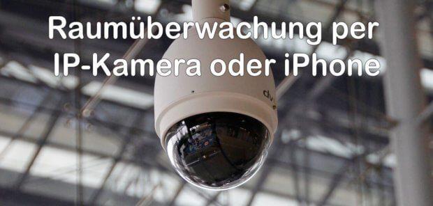 Um einen Raum mit WLAN zu überwachen, kann man entweder eine IP-Kamera oder ein altes iPhone nutzen, für das man keine Verwendung mehr hat (Foto: Pixabay).