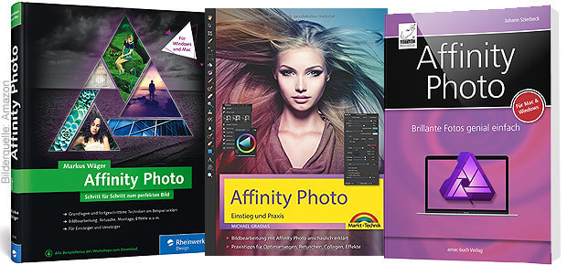 Affinity Photo Handbuch Windows Mac macOS iPad iOS