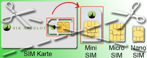 Nano Karte Zuschneiden.Sim Karte Zuschneiden Garantie Verlust Bei Apple Und Co