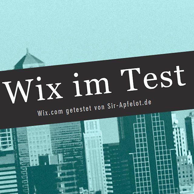wix com erfahrungen