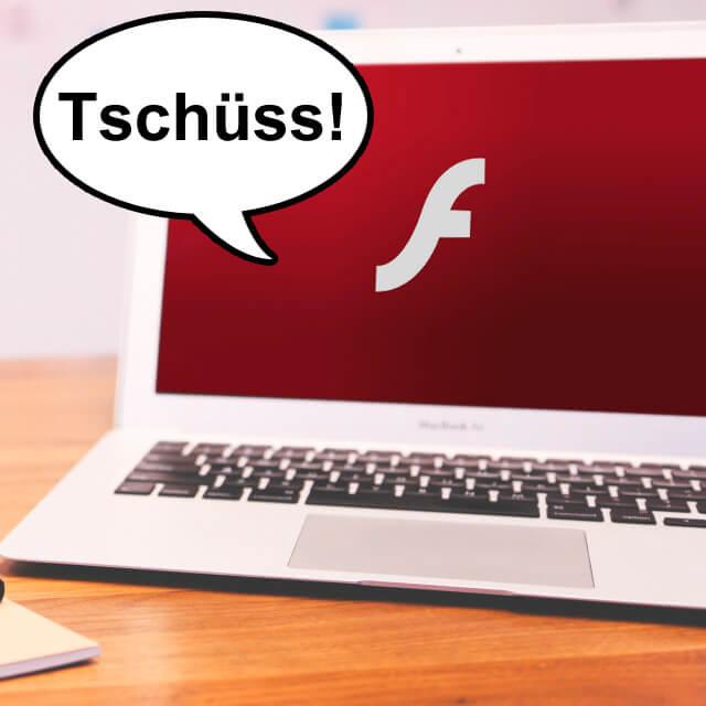 Flashplayer Plug In End of Life 2017 beschlossen