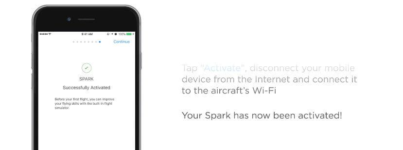 Die Aktivierung der DJI Drohne kann man innerhalb weniger Minuten über die DJI GO App am Smartphone erledigen.