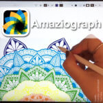 Amaziograph App für Apple iPad: Skizzen, Designs, Mandalas und Muster selber machen