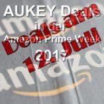 AUKEY Prime Week Deals auf Amazon: 12. Juli 2017