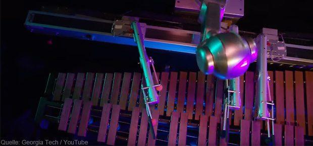 Deep Shimon Marimba Roboter