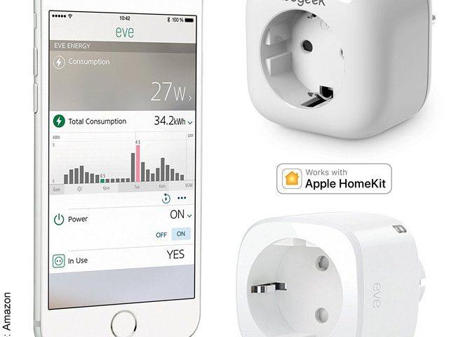 Apple Home Kit Steckdosenadapter Funk-Steuerung der Stromversorgung