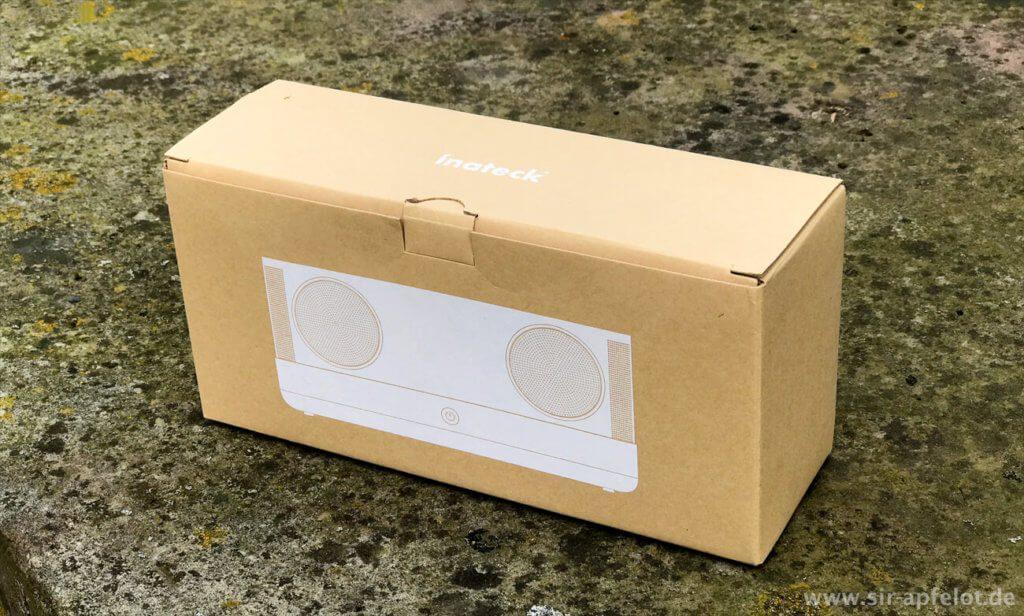 Lobenswert: Bei der Verpackung verzichtet Inateck auf unnötigen Schnick-Schnack – da freut sich die Umwelt. ;)