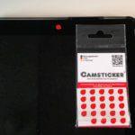 CAMSTICKER® im Test: rückstandslos wiederablösbare Webcam Sticker