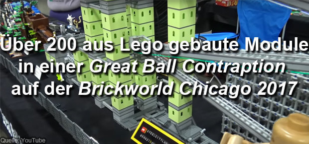 Great Ball Contraption Brickworld Chicago 2017