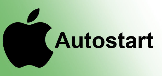 Apple Mac Autostart Programme hinzufügen oder entfernen