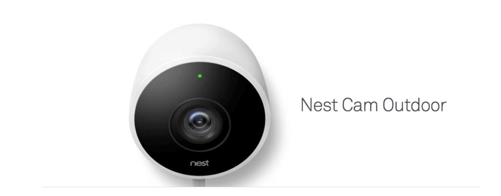 Die Nest Cam Outdoor ist ein weiteres Produkt, das seine Daten in die Google-Cloud schickt. Im Gegensatz zur Nest Cam kann man aber den Rauchmelder Nest Protect auch ohne Nutzung des kostenpflichtigen Cloud-Abos ohne Einschränkungen nutzen (Foto: nest.com).