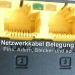 Netzwerkkabel: Belegung von Adern und Pins beim Ethernet