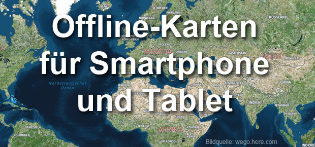 Offline-Karten von Google Maps