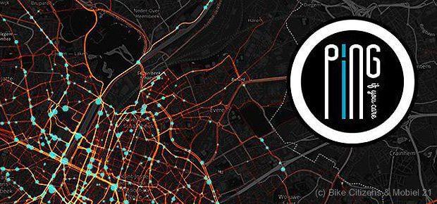 PING if you care! ist eine internationale Aktion mit Bike Citizens aus Österreich und Mobiel 21 aus den Niederlanden. In Brüssel, Belgien, soll sie für mehr Sicherheit für Radfahrer sorgen. Aktuelle Daten gibt es jetzt als Heatmap.
