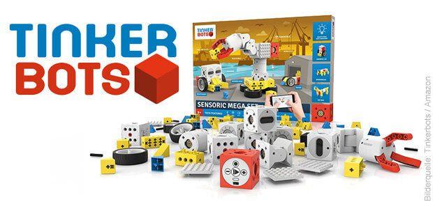 Die Tinkerbots Roboter Sets findet ihr auf Amazon. Informationen und Alternativen gibt's in diesem Beitrag!