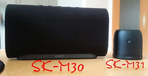 Im Test: der AUKEY SK-M30 und der AUKEY SK-M31, zwei Bluetooth Lautsprecher, die ich nun guten Gewissens empfehlen kann.