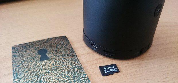 Tipp für die Wiedergabe von Musik per MicroSD: Alles gut durchnummerieren, abgespielt wird nämlich nach Alphabet und Titelnummer. Aber nicht schlecht für Hörbücher...