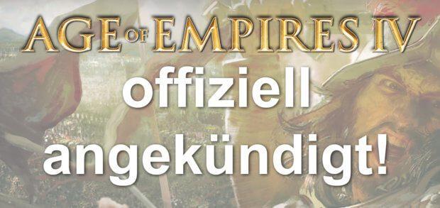 Auf der Gamescom 2017 in Köln hat Microsoft das Spiel Age of Empires IV angekündigt. Das Teaser-Videos zum neuen AoE 4 findet ihr in diesem Beitrag. (Grafiken: Microsoft Studios / YouTube)