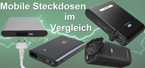 akku steckdose powerbanks mit 12v 220v 230v im vergleich. Black Bedroom Furniture Sets. Home Design Ideas