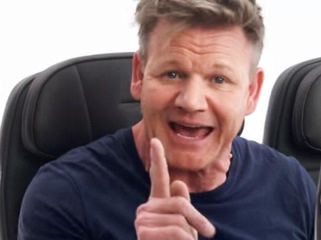 Gordon Ramsay im Safety Video der britischen Fluglinie British Airways