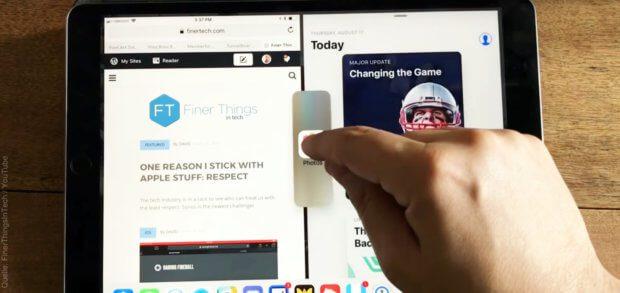 Die neuen Funktionen und Einstellungen unter iOS 11 auf dem Apple iPad (Pro) werden euch in verschiedenen YouTube-Videos erklärt. Hier haben wir euch zwei herausgesucht und eine Playlist mit weiteren Erläuterungen verlinkt.