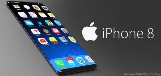 So wurde das Apple iPhone 8 Anfang 2017 in einem YouTube-Video präsentiert. Gerüchte, Leaks und Spekulationen fasse ich euch in diesem Beitrag zusammen.